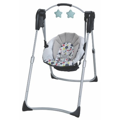 Graco Slim Spaces Compact Baby Swing - Etcher