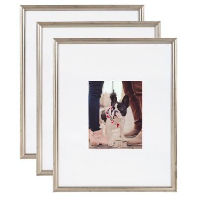 Adlynn Wall Frame Silver - Kate & Laurel All Things Decor