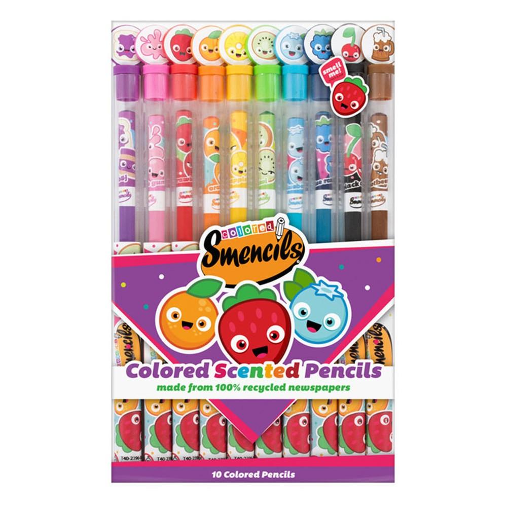 Scentco Colored Smencils Colored Pencils 10ct, Multi-Colored