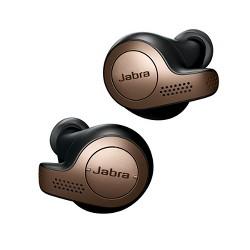 Jabra Elite 65t True Wireless Earbuds Copper Black (Manufacturer Refurbished)