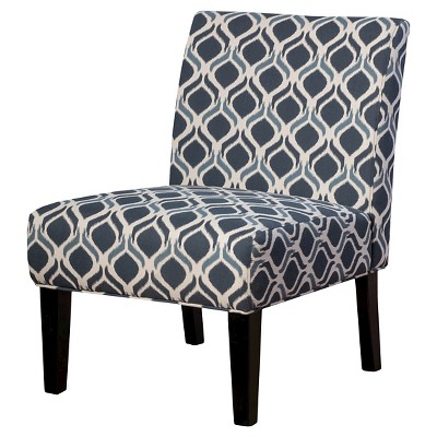 Saloon Fabric Print Accent Chair - Christopher Knight Home