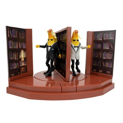 Fortnite Agent's Room & Agent Peely Action Figure 4pk