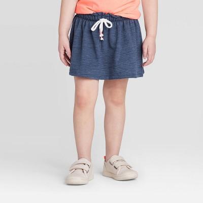 Toddler Girls' Knit Skort - Cat & Jack™ Indigo Blue 12M