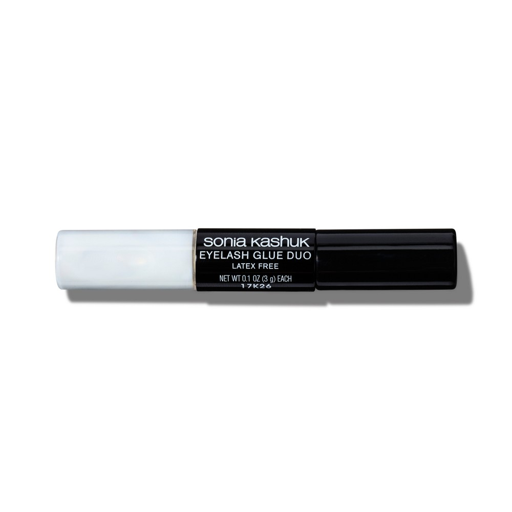 Sonia Kashuk Duo-Color Eyelash Glue - Black/Clear