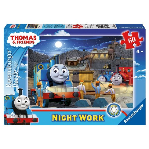 Thomas and Friends Night Work Glow-in-the-Dark 60pc Puzzle - image 1 of 2