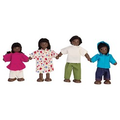 PlanToys Doll Family - African-American