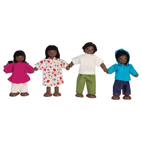 PlanToys Doll Family - African-American - image 1 of 1
