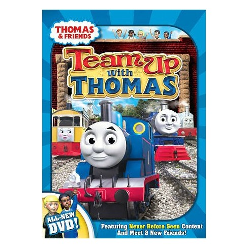 thomas friends team up with thomas dvd target