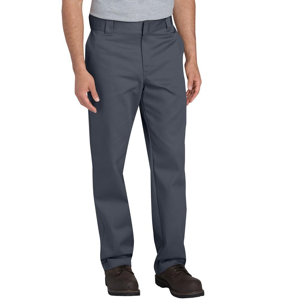 Trousers Dickies Almost Black 34X34, Men's, Grey