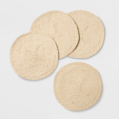 4pk Woven Placemat Natural - Opalhouse™