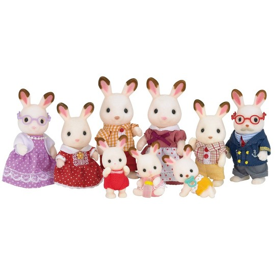 Calico Critters Hopscotch Rabbit Family image number null