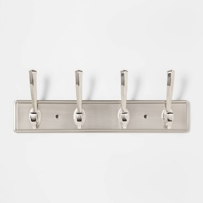 16  Atlas Hook Rail Nickel - Threshold™