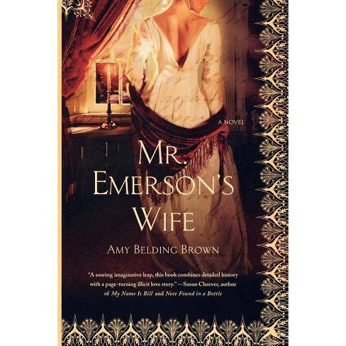 Mr. Emerson's Wife - by  Amy Belding Brown (Paperback) - image 1 of 1