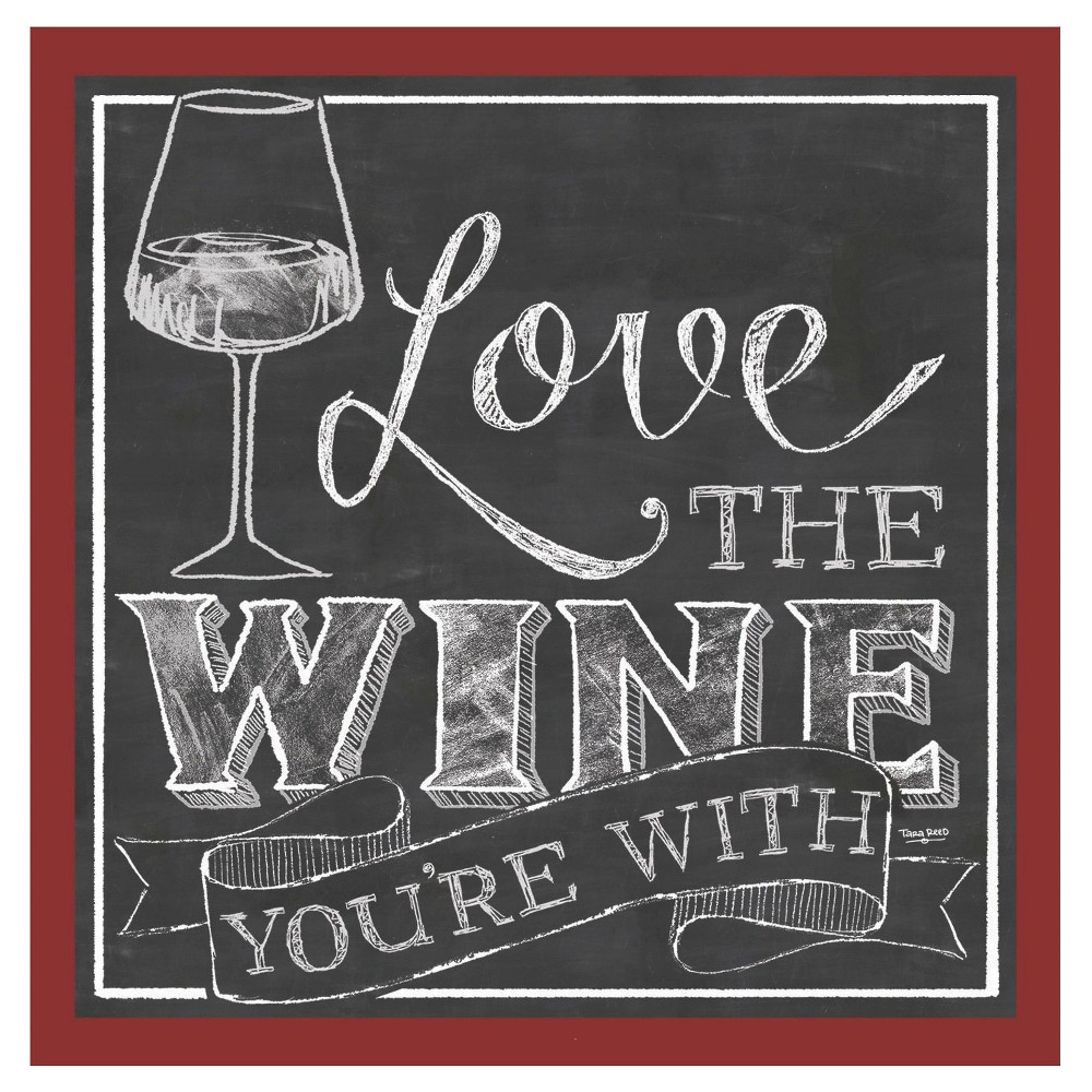Image of Thirstystone Love the Wine You're With 4 Piece Occasions Coaster Set