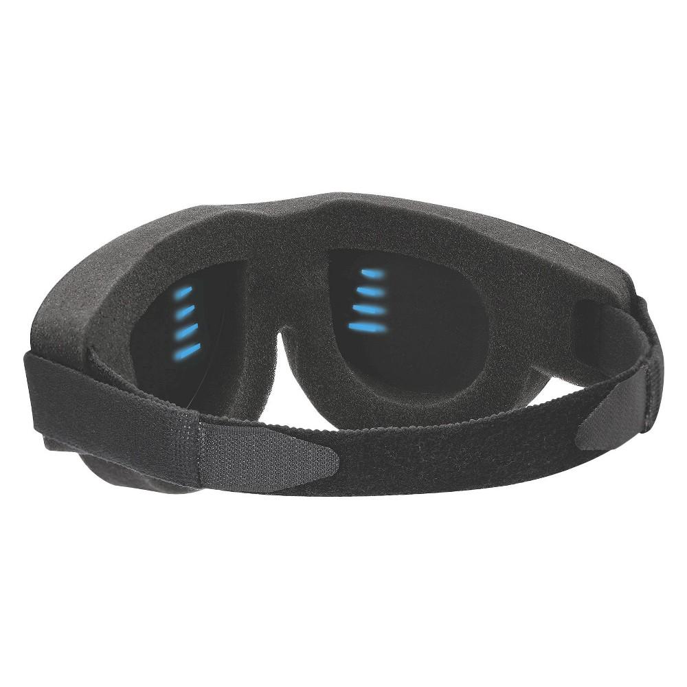 Sound Oasis Go To Sleep Therapy Mask, Black