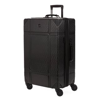 """SWISSGEAR 26"""" Hardside Trunk Suitcase - Black"""