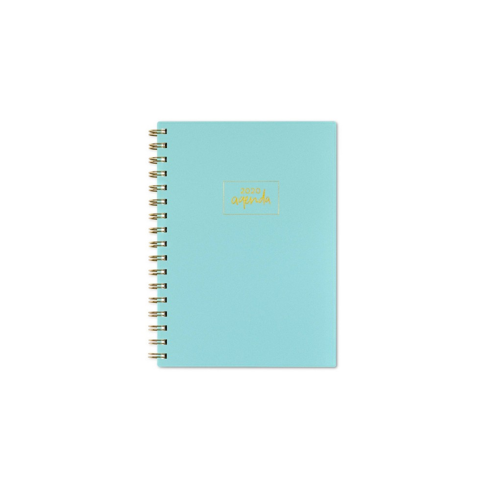 "Image of ""2020 Planner 5.875""""x 8.625"""" Mint Green - Senn and Sons for Blue Sky"""