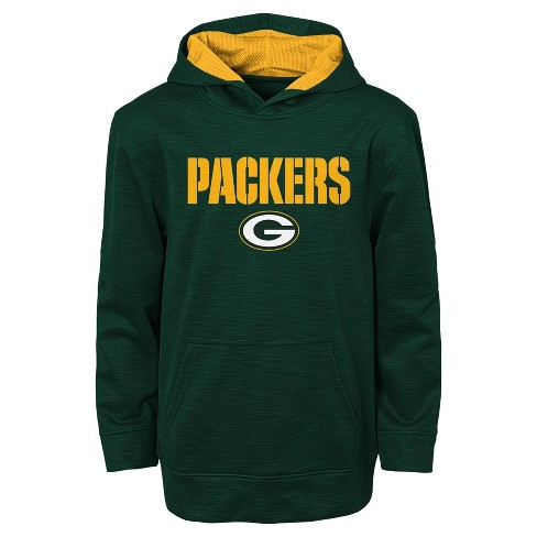Green Bay Packers Boys  Heathered Pullover Hoodie Sweatshirt   Target 5ee42222c