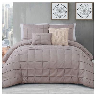 Taupe Madison Comforter Set (King)5pc