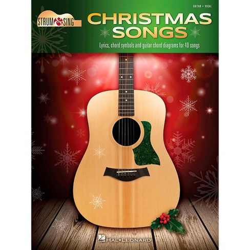 All I Want For Christmas Is My Two Front Teeth Lyrics.Hal Leonard Christmas Songs Strum Sing Guitar
