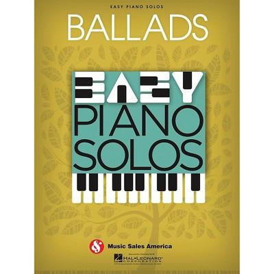 Music Sales Ballads  Easy Piano Solos