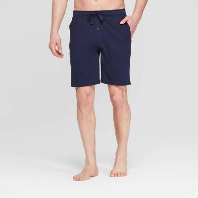 Men's 9  Knit Pajama Shorts - Goodfellow & Co™ Navy L