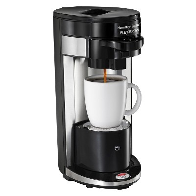 Hamilton Beach Re-Certified FlexBrew Single Serve Coffee Maker - Black R1019