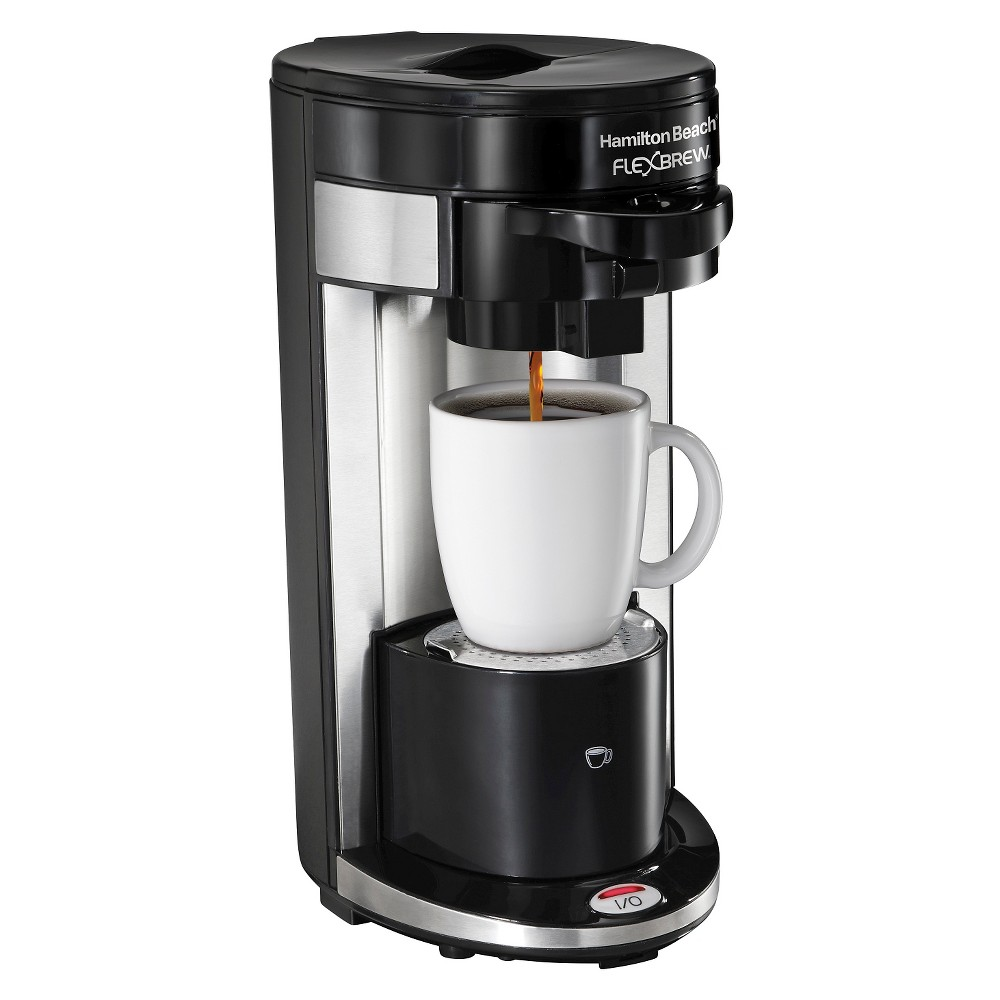 Hamilton Beach Re-Certified FlexBrew Single Serve Coffee Maker – Black R1019 50906274