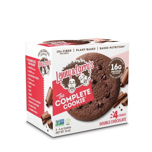 Lenny & Larry's Complete Vegan Cookie - Double Chocolate Chip - 4ct - image 1 of 3