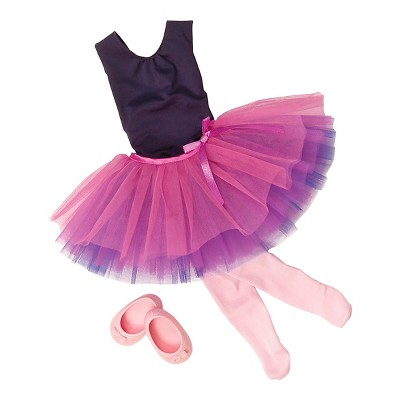 """Our Generation Ballet Outfit for 18"""" Dolls - Dance Tulle You Drop"""