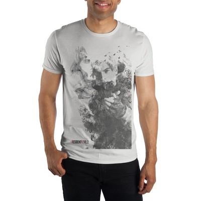 Mens Resident Evil 2 Shirt Short Sleeve Resident Evil Clothing