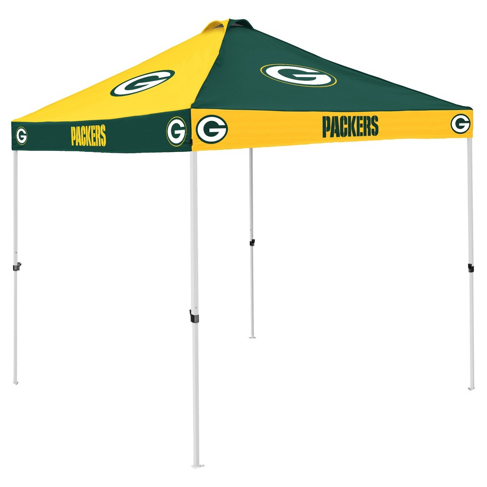 NFL Green Bay Packers 9x9' Checkerboard Canopy Tent