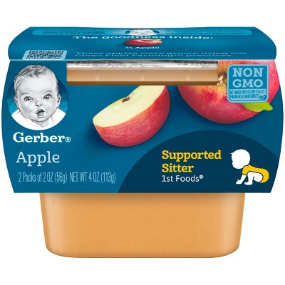 Gerber 1st Foods Baby Food Apple - 2oz (2ct)