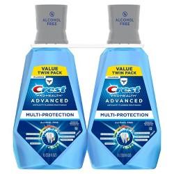 Crest Pro-Health Advanced Extra Deep Clean Fresh Mint Pack of 2 - 66 fl oz