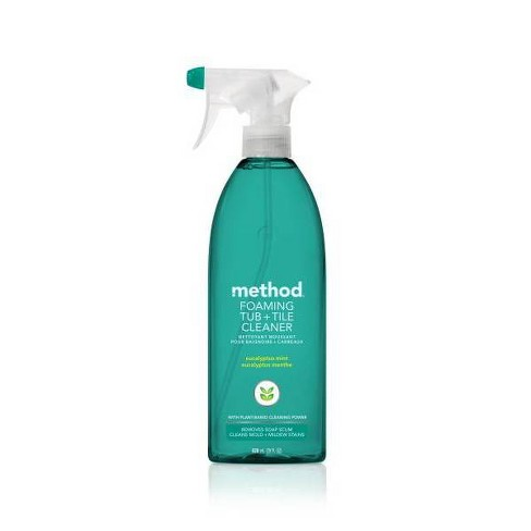 Method Cleaning Products Foaming Bathroom Cleaner Eucalyptus Mint Spray Bottle 28 fl oz - image 1 of 3