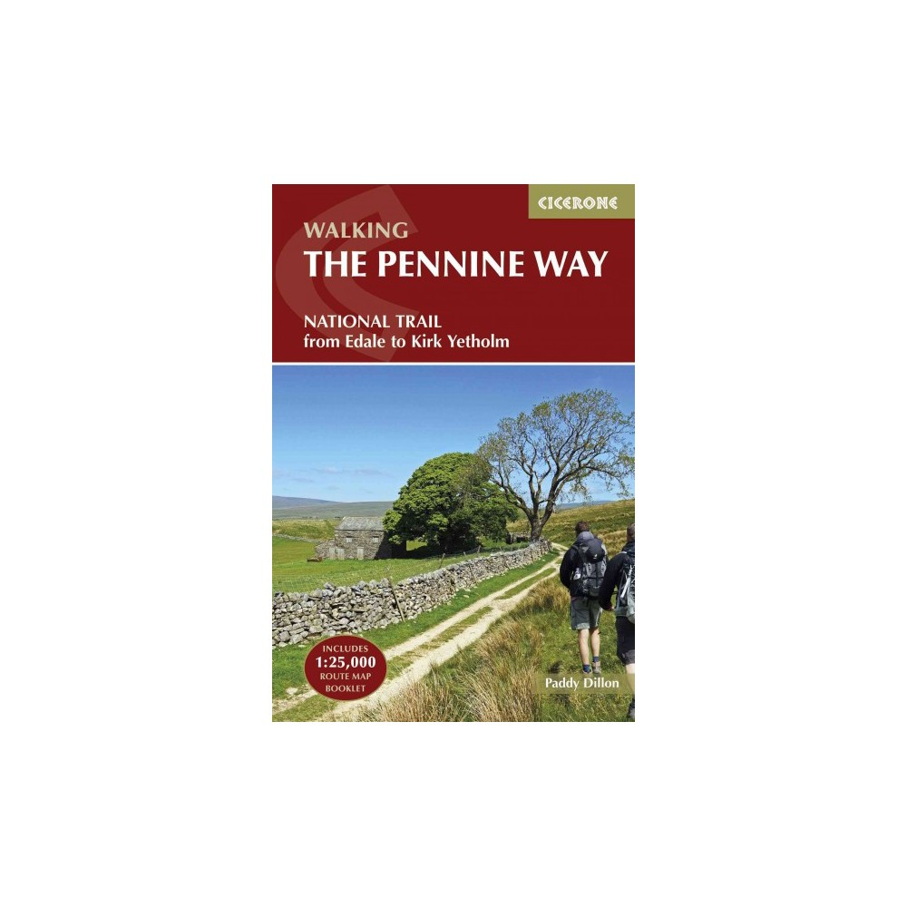 Walking the Pennine Way : National Trail from Edale to Kirk Yetholm (Paperback) (Paddy Dillon)