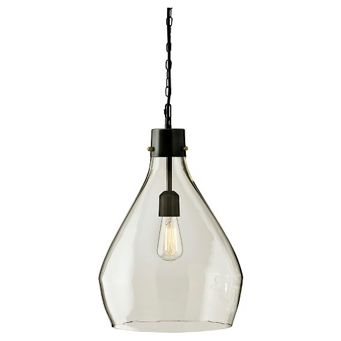 Avalbane Pendant Light Clear/Gray - Signature Design by Ashley - image 1 of 4