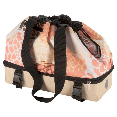 Huffy Expandable Rear Rack Bag - Floral - image 1 of 3