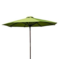 9' Classic Wood Patio Umbrella - Parasol