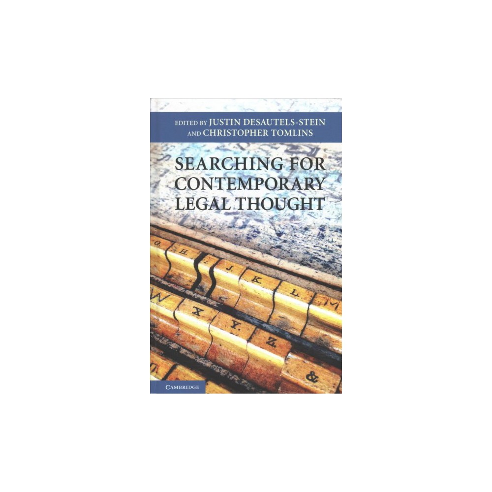 Searching for Contemporary Legal Thought - (Hardcover)