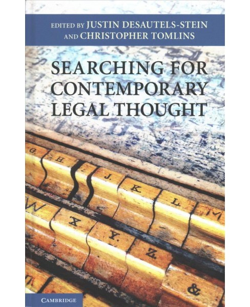 Searching for Contemporary Legal Thought -  (Hardcover) - image 1 of 1
