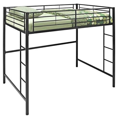 Full Premium Metal Loft Bed - Saracina Home - image 1 of 5