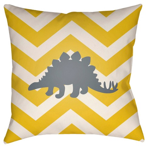 Stegosaurus Throw Pillow - Surya - image 1 of 1