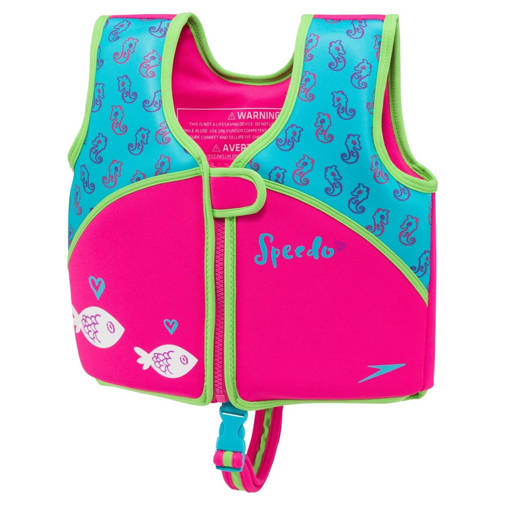 Speedo Kids Swim Vests - Turquoise (Medium)