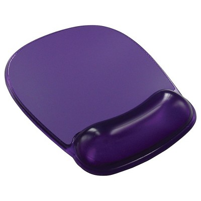 Staples Gel Mouse Pad/Wrist Rest Combo Purple (18265) 811731