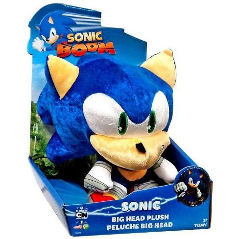 Sonic The Hedgehog Sonic Boom Sonic 8 Inch Big Head Plush Metallic Target