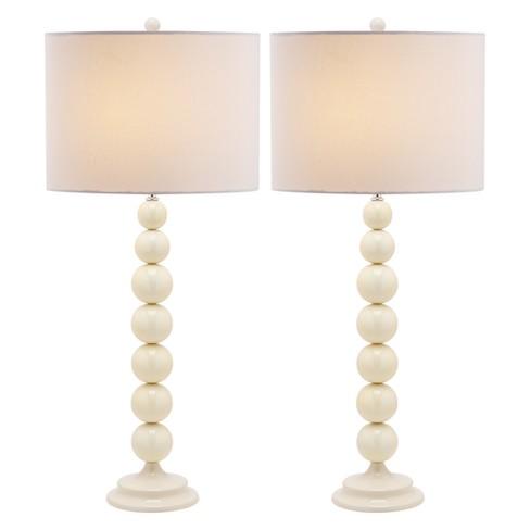 Jenna Stacked Ball Table Lamp Set Safavieh Target