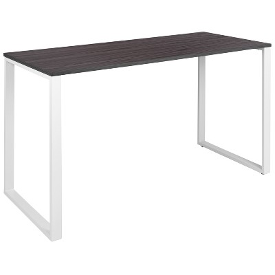 "Flash Furniture Modern Commercial Grade Desk Industrial Style Computer Desk Sturdy Home Office Desk - 55"" Length"