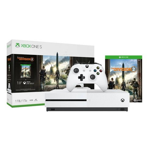 Xbox One S 1TB The Division 2 Bundle - image 1 of 4