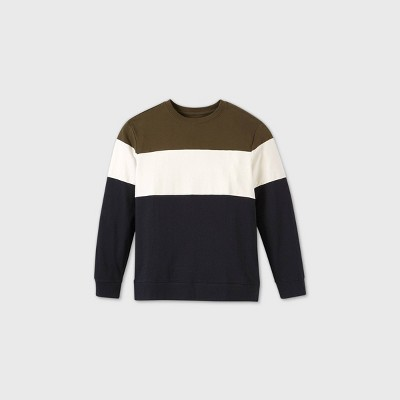 Men's Colorblock Crewneck Sweatshirt - Original Use™